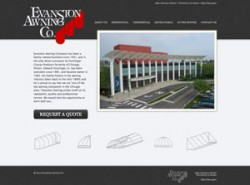 Evanston Awnings Website